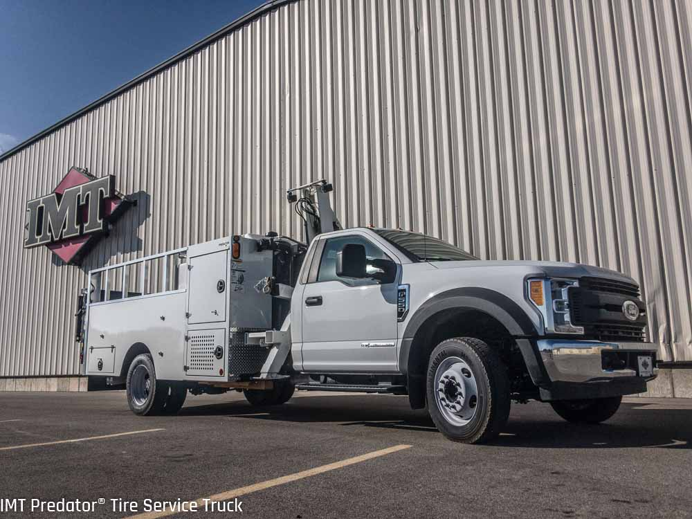 Car Tire Sales: Predator® Tire Service Truck